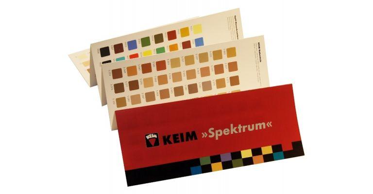 KEIM Spektrum Kleurenkaart