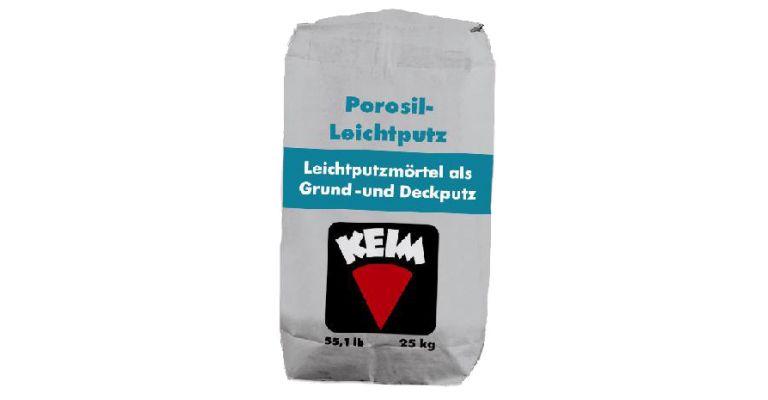 KEIM Porosil-Leichtputz
